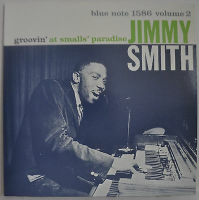 Jimmy Smith Volume 2 Groovin' At Smalls' Paradise Japan Blue Note LP BLP 1586