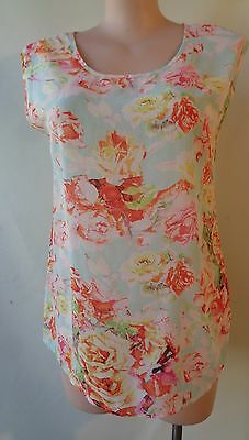 Emerson Maternity floral top size 14 sleeveless