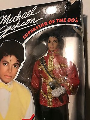 Rare king of pop super cool Michael Jackson doll 1984 vintage toy