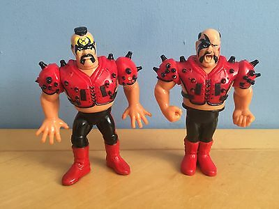 Legion Of Doom (LOD) WWF Hasbro Wrestling Action Figures Vintage Toys Retro Tag