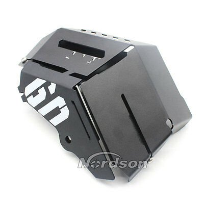 Radiator Water Coolant Resevoir Tank Guard Cover For MT-09 FZ-09 MT09 FZ09 Black