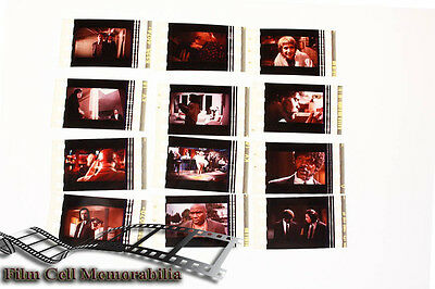 Pulp Fiction -12pack - 35mm Film Cell Lot movie memorabilia Aus Seller Instock