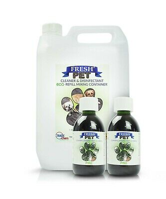 2 x 5L FRESH PET URINE SMELL ODOUR REMOVER  - PINE - TRADE Chem