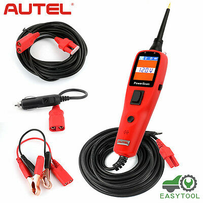 Autel PS100 12V 24V Circuit Tester PowerScan AVOmeter Electrical Diagnostic Tool