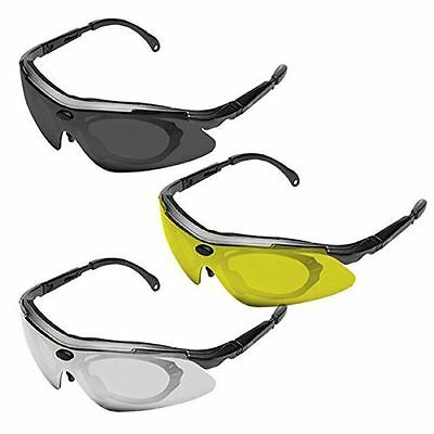 Konus Shooting-4 Hunting Shooting Protection Glasses + 3 Colour Lenses 8063