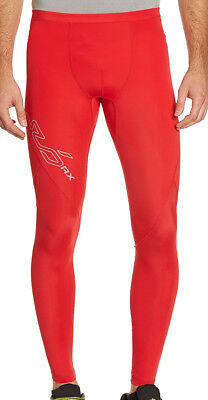 Sub Sports Elite RX Mens Long Compression Tights - Red