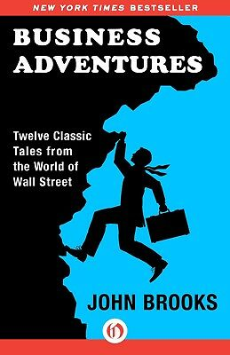 Business Adventures by Brooks, John (Paperback)