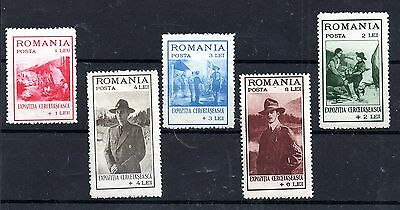 Romania 1931 Boy Scouts MNH set SG1221-1225 WS4972
