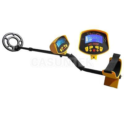 Metal Detector Treasure Search Digger LCD Waterpoof Coil Gold Outdoor