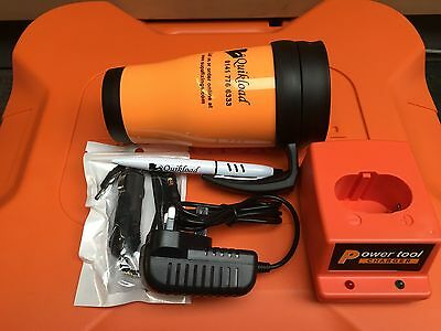Replacement Base/ Ac/Dc/In Car Charger For Paslode Tools Free  Mug And Pen