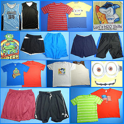 16 Piece Lot of Nice Clean Boys Size 12 Spring Summer Everyday Clothes ss171