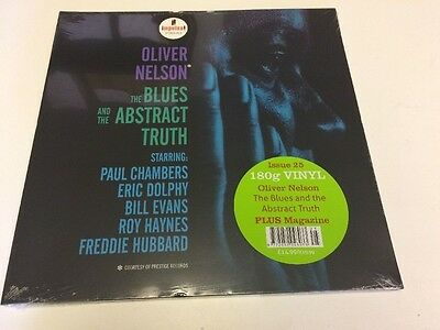 DeAGOSTINI - JAZZ AT 33 1/3 - VINYL  LP - OLIVER NELSON - BLUES & ABSTRACT TRUTH