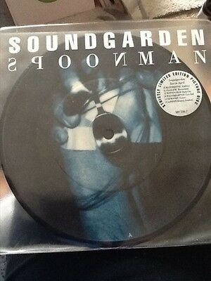 Soundgarden Spoonman ltd edit 7'pic disc