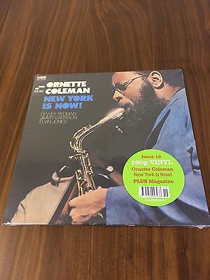 DeAGOSTINI - JAZZ AT 33 1/3 - VINYL ALBUM - ORNETTE COLEMAN - NEW YORK IS NOW!