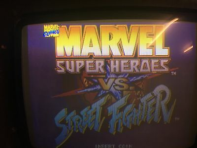 Marvel Super Heroes vs Street Fighter Capcom CPS2 JAMMA WORKING