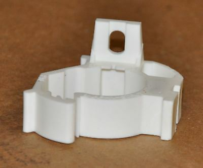 Qty 100,  pipe clamp for 1.25 inch PVC or 1.5 inch copper, white color, nylon