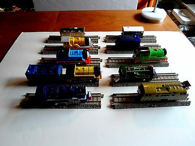 THOMAS & FRIENDS 10 TRAIN(for play ONLY) TRACKMASTER MOTORIZED RAILWAY,10 TRACK