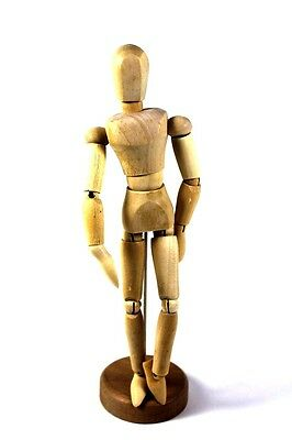 """WOODEN  MANNEQUIN  FIGURE DRAWING MODEL 8"""" Inches"""