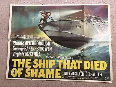 Ship That Died Of Shame Ealing Quad Poster