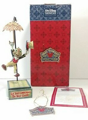 """Disney Collection Jim Shore """"Let Your Conscience Be Your Guide"""" Jiminy Cricket"""