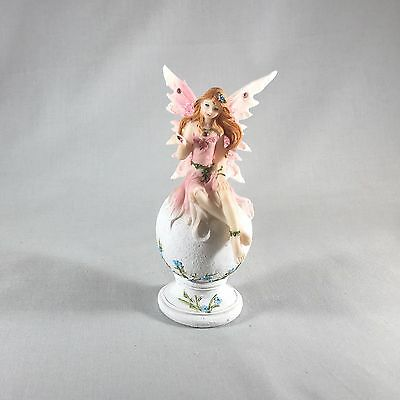 """Fairy Sitting on a Ball 5"""" Tall (Pink)"""