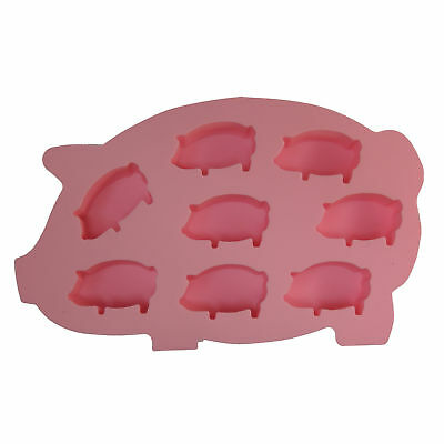 Epicurean Flexible Silicone Pig Ice Cube Tray - Chocolate Mould - Ice cube mould