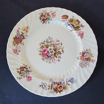 SET OF TWO - Aynsley Bone China SUMMERTIME Dinner Plates