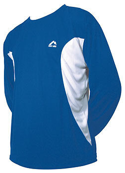 More Mile Long Sleeve Junior Running Top - Blue