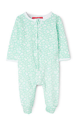 NEW Sprout Zip Sleepsuit Mint