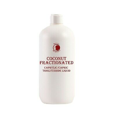 Coconut Fractionated Carrier Oil - 100% Pure - 1 Litre (OV1KCOCOFRAC)