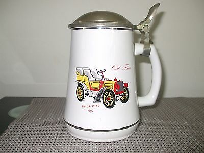 Vintage Germany Beer Stein with Lid