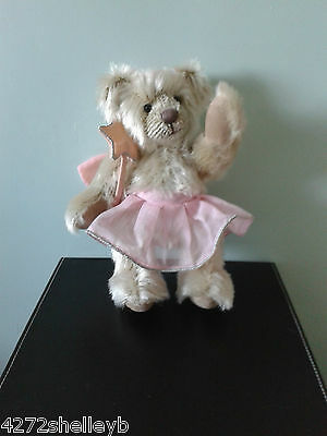 Russ Berrie Mohair Bear Angel Made Exclusively For The  Past Times Shops