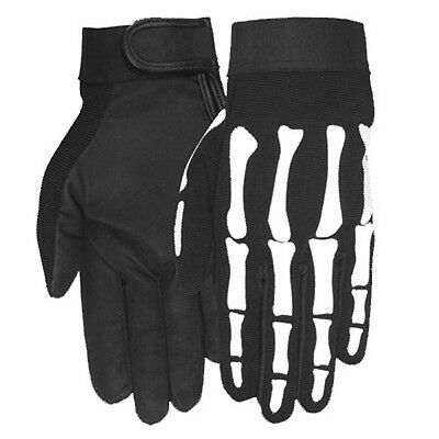 NEW Genuine USA Quality Skeleton Hand Fingers Mechanics / Summer riding gloves