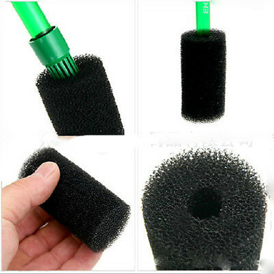 Valuable 2x Aquarium Fish Tank Black Cotton Filter Foam Sponge Pond Protector
