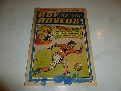 ROY OF THE ROVERS Comic - Year 1977 - Date 19/11/1977 - UK Paper Comic