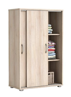 ikea trysil kleiderschrank mit schiebet ren 4schubl eur 75 00 picclick de. Black Bedroom Furniture Sets. Home Design Ideas