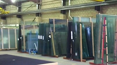 6.4 laminated glass cut to any size. Per square meter