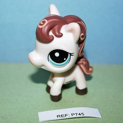 PETSHOP - Cheval - Poney - Littlest Pet Shop -  LPS (ref:745)