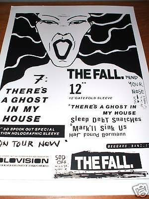 The Fall -Ghost In My House Poster 1987