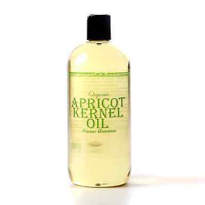 Apricot Kernel Organic Carrier Oil  - 100% Pure - 500ml (CO500APRIKERN)