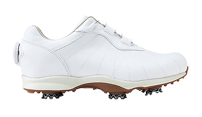 Footjoy FJ 2017 New Women's emBody BOA Golf Shoes White Color Wide Authentic