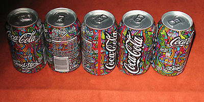 VeRy RaRe LiMiTeD CoCa CoLa Woodstock festival FULL can 330ml from Poland