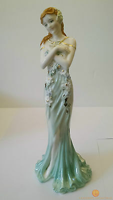 Coalport EMERALD Limited Edition Figurine Spirit Of The Jewels