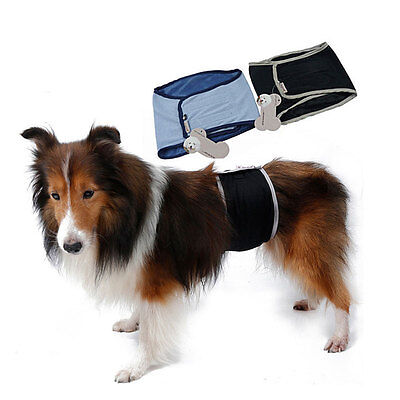 Dog Puppy Diaper Wrap Underwear Belly Sanitary Pants Male Training Summer Band