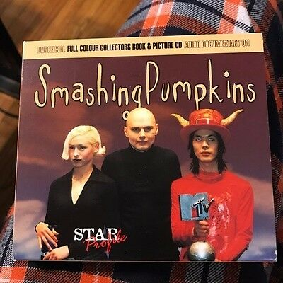 Smashing Pumpkins Star Profile audio documentary picture CD &collector book 1997