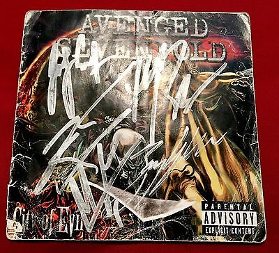 Avenged Sevenfold **Double Signed** City Of Evil