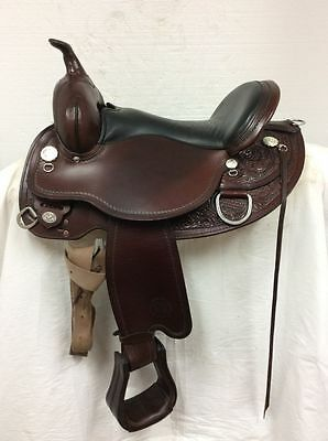 "Circle Y Cottonwood Flex2 Trail #2361 16"" Used Extra Wide Quarter Horse Bar"
