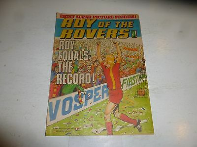 ROY OF THE ROVERS Comic - Year 1979 - Date 17/02/1979 - UK Paper Comic