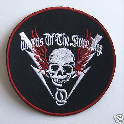 Queens Of The Stone Age! Circle Patch - Free Ship Usa!