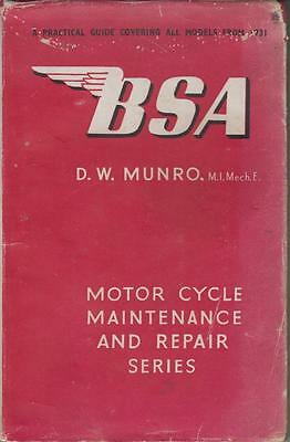 Bsa 150 250 350 500 550 600 1000 Blue Empire Gold Star A10 1931-54 Repair Manual